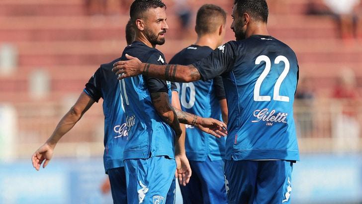 Spezia-Empoli 2-2: Caputo illude la matricola