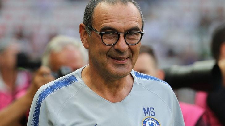 Chelsea, Sarri: «Calciomercato? Spero restino i big»