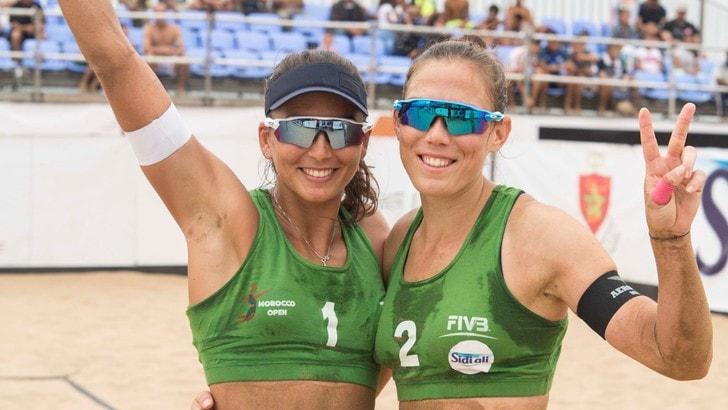 Beach Volley: Orsi Toth-Menegatti vincono il derby e vanno in finale