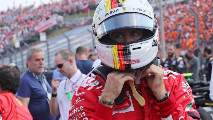 F1 Ungheria, al giro 35 comanda Vettel