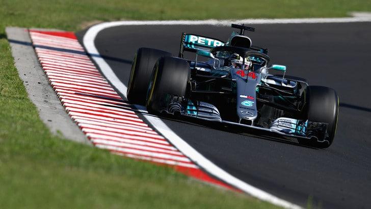 F1 Ungheria, Hamilton davanti a Vettel e Raikkonen