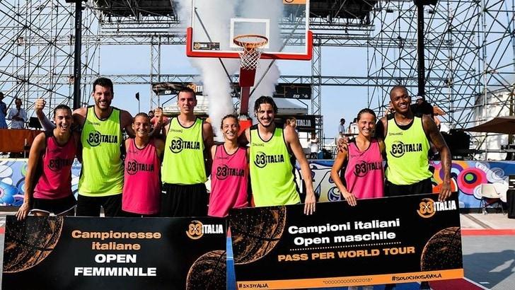 Basket 3X3, Cremona e Ancona vincono lo scudetto