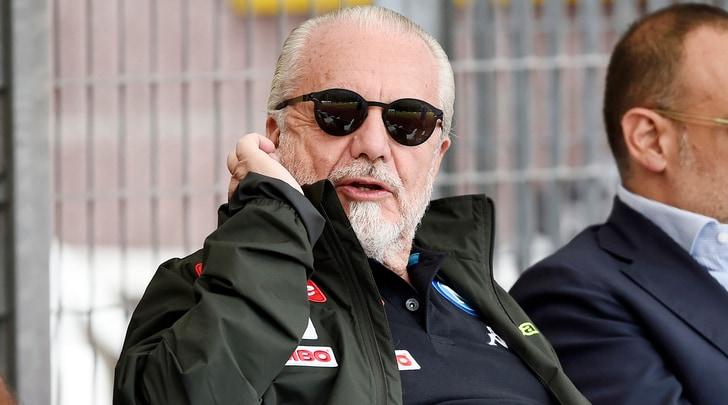 Napoli, De Laurentiis: «Vogliamo vincere senza imbrogliare»