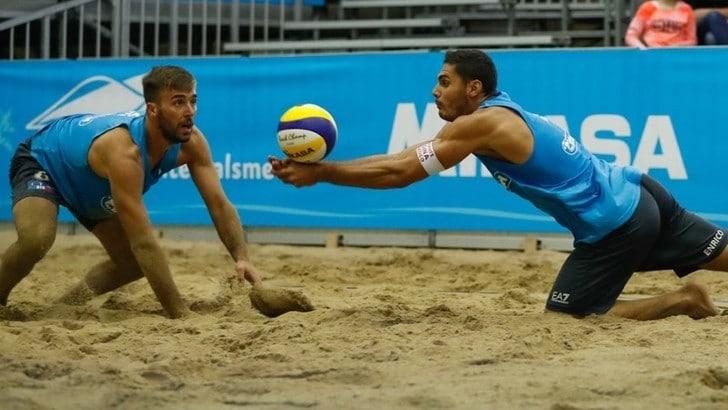Beach Volley: per Caminati-Rossi esordio vincente a Vienna