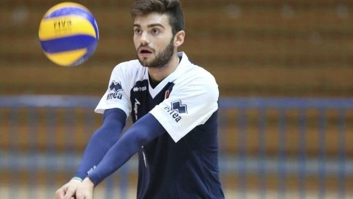 Volley Superlega: il libero De Angelis chiude il roster di Trento