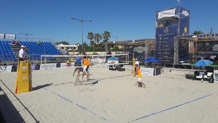 Beach Volley: a Casal Velino la quinta tappa del Campionato Italiano