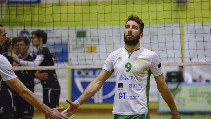 Volley: A2 Maschile, a Reggio Emilia Amorico, l'opposto che viene dal tennis