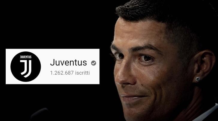 Juventus, luglio da record: primato mondiale su YouTube