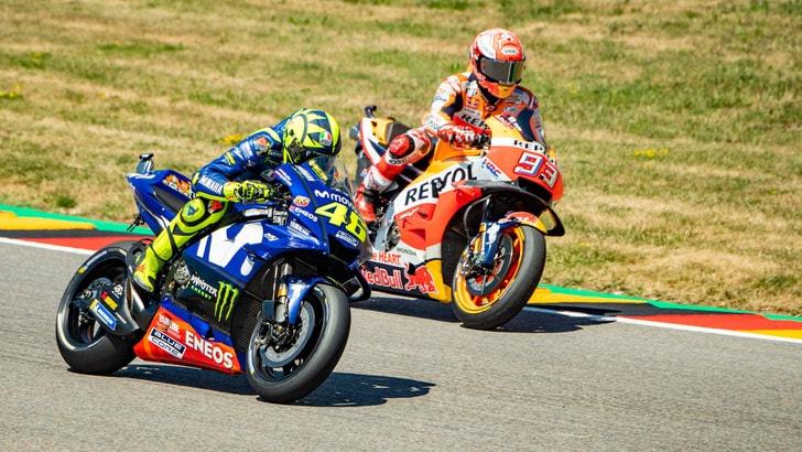 MotoGp, vale 15 volte la posta la rimonta Mondiale di Rossi