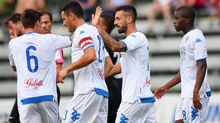 Empoli-Eintracht Francoforte 2-0: Caputo in vetrina
