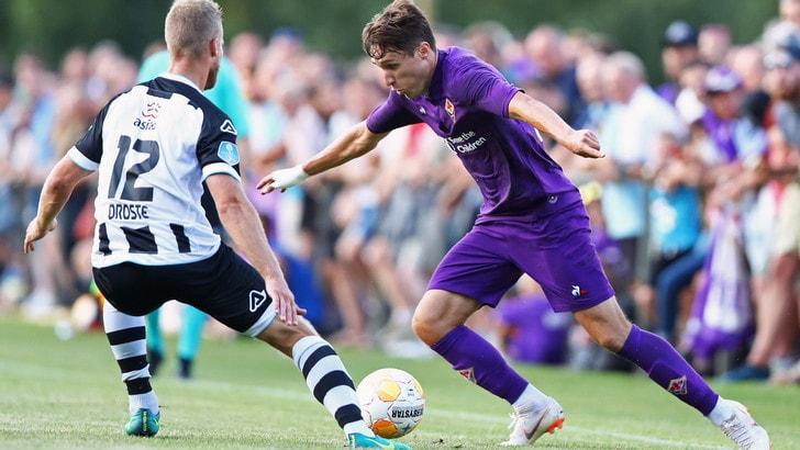 Heracles-Fiorentina 0-2: Eysseric e Chiesa gol