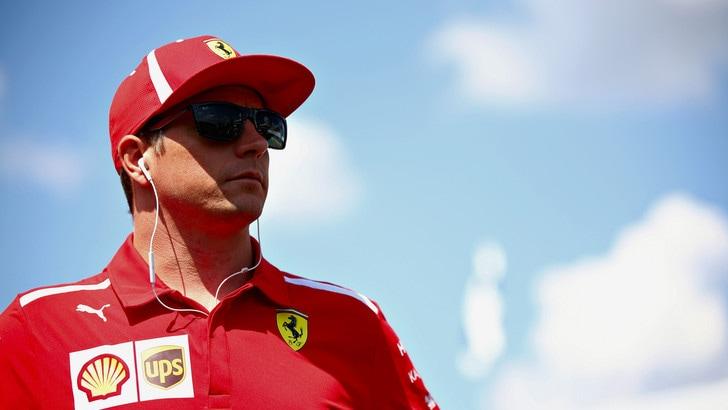 F1 Ferrari, Raikkonen: «È stato come un normale venerdì»