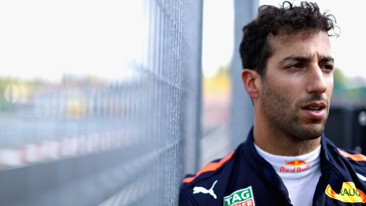 F1 Red Bull, Ricciardo: «L'accordo sarà sicuramente fatto a Spa»