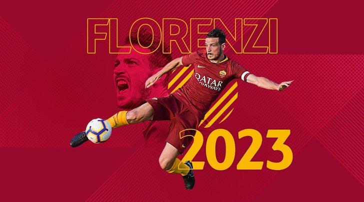 Roma, Florenzi rinnova fino al 2023. Monchi:«É una delle nostre bandiere»