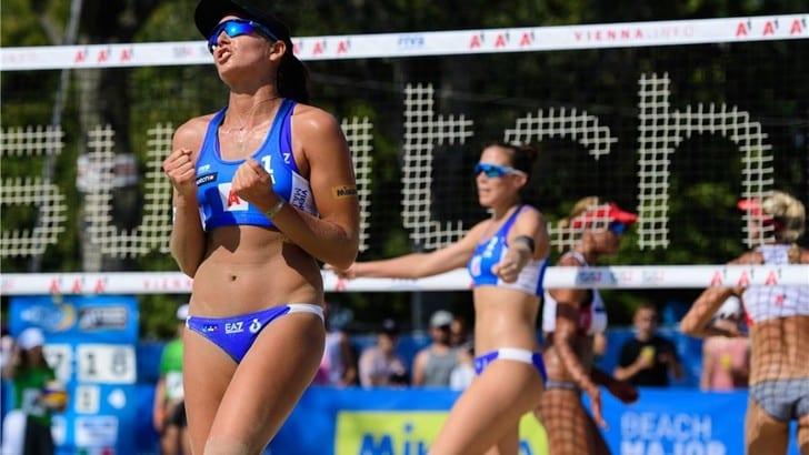 Beach Volley: a Vienna Menegatti-Orsi Toth ko agli ottavi