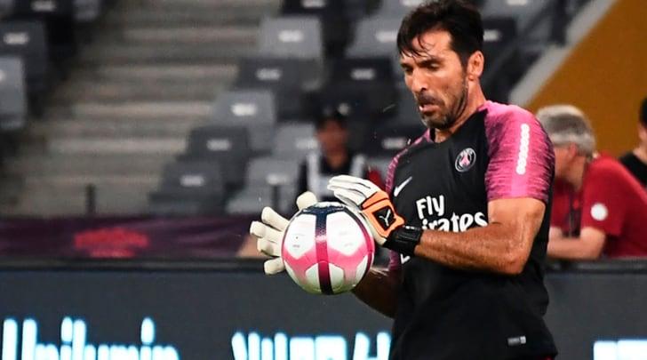 Psg-Monaco 4-0, Di Maria firma la doppietta: Buffon alza subito un trofeo