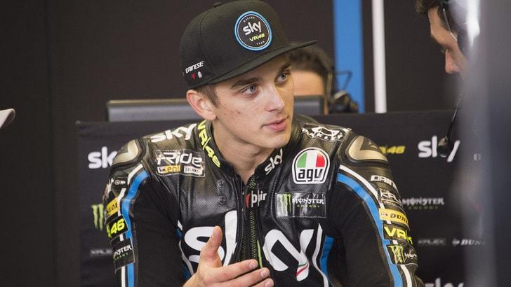 Moto2 Brno: Marini centra la prima pole della carriera