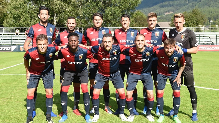Genoa-Montpellier 0-2. In rete Delort e Sambia