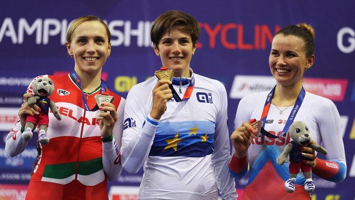 Europei, corsa a punti donne: oro alla Confalonieri