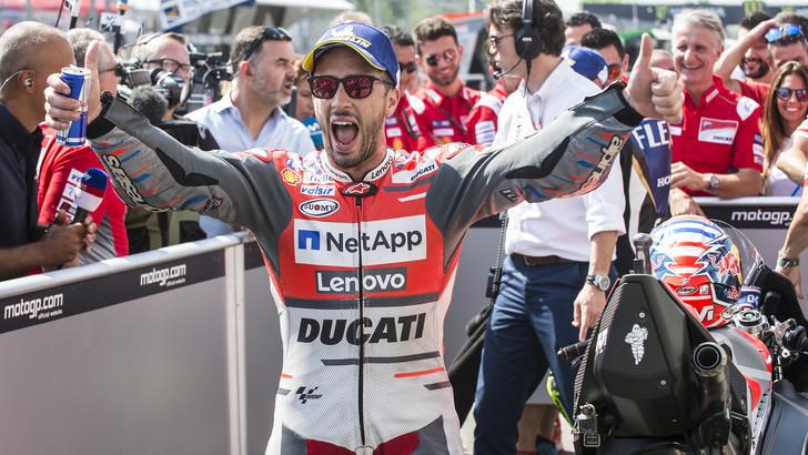 MotoGp Brno, Dovizioso: «Non mi aspettavo di essere così veloce»