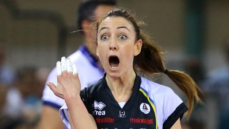 Volley: A1 Femminile, Chiara Di Iulio sceglie Filottrano