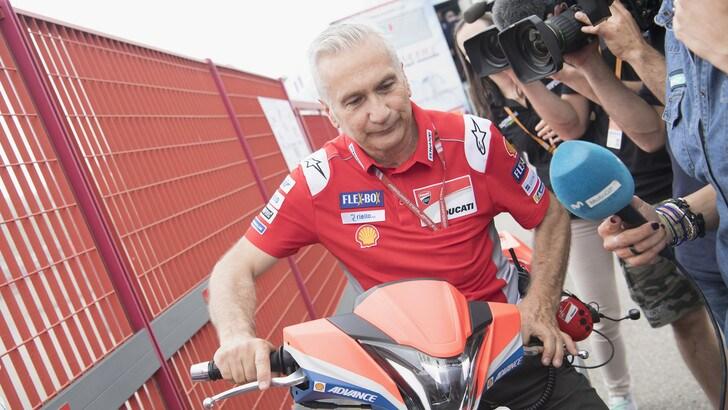 MotoGp Brno, Tardozzi: «La nostra moto ha dimostrato di essere completa»