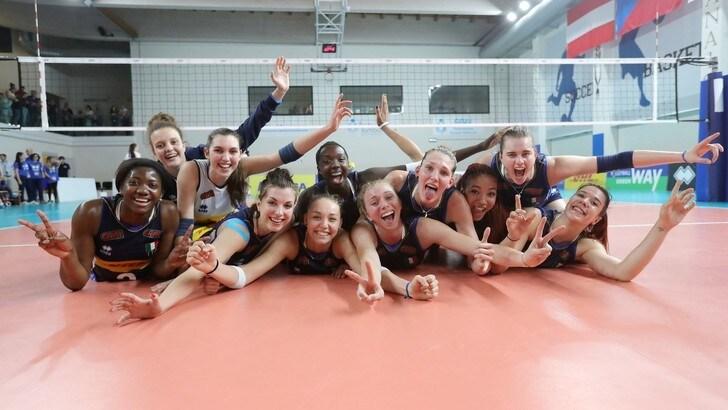 Volley: per l'Under 19 Femminile stage al Centro Pavesi