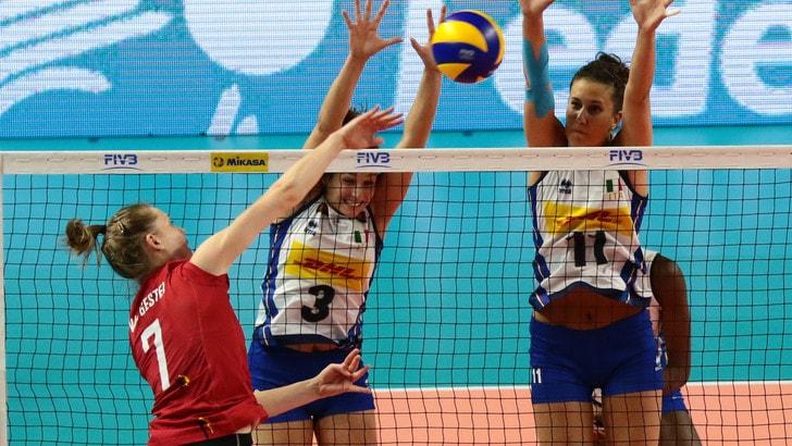 Volley: domani a Hoogeveen l'Italia sfida la Russia