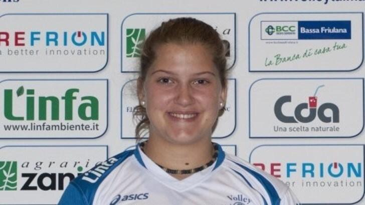 Volley: A2 Femminile, Alice Turco firma per Martignacco