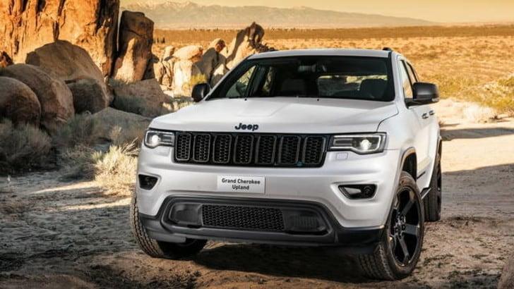Grand Cherokee Upland, Jeep va di fretta