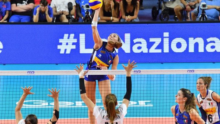 Volley: Volley: l'Italia Femminile c'è, battuta la Russia