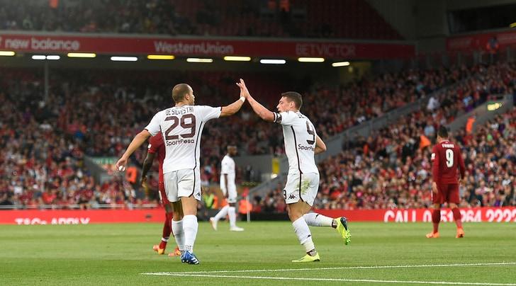 Liverpool-Torino 3-1: Belotti non basta, granata ko ad Anfield