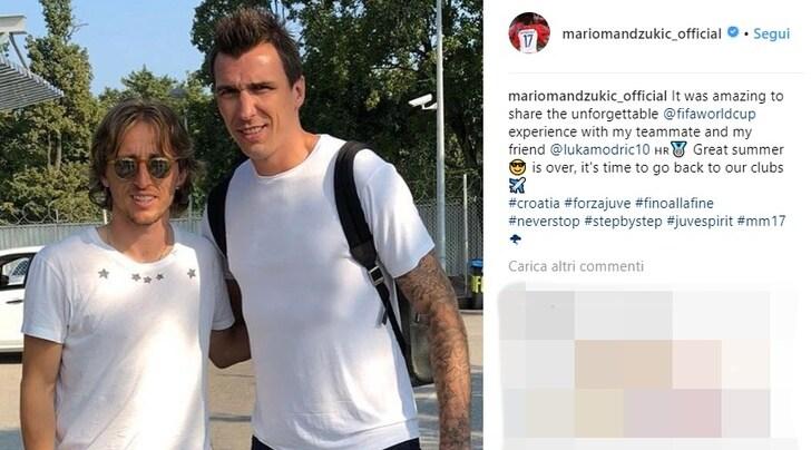 "Mandzukic ""mura"" l'Inter e spinge Modric verso Madrid"