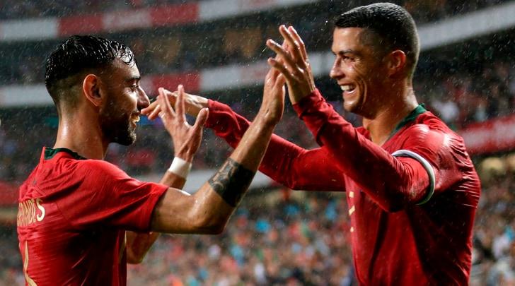Bruno Fernandes: «Vi spiego i ritiri con Cristiano Ronaldo»
