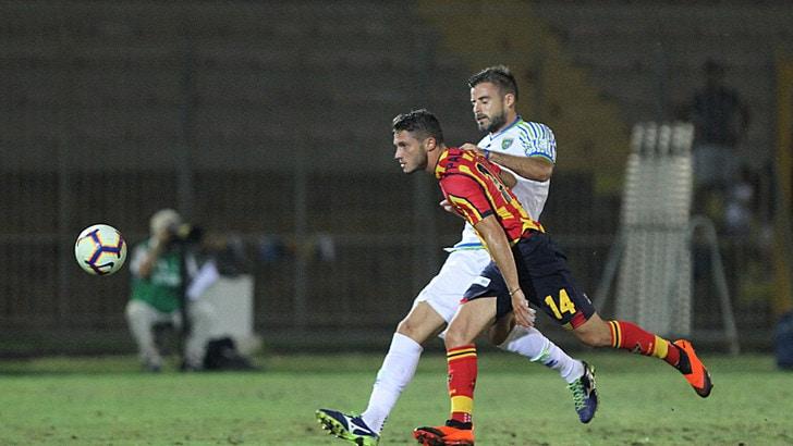 Coppa Italia Lecce-Feralpisalò, lampo di Palombi ai supplementari, termina 1-0