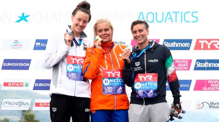 Europei, Rachele Bruni bronzo nella 5 km