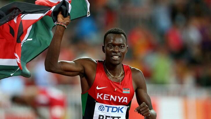 Atletica, è morto il keniano Bett, 3 anni fa campione del mondo nei 400 ostacoli