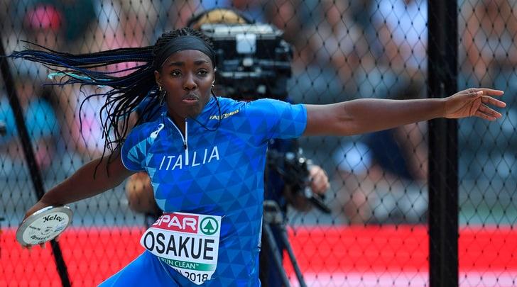 Atletica, Daisy Osakue in finale del disco:«Ho perdonato tutti»