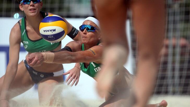Beach Volley: a Mosca Lupo-Nicolai ok, sconfitte le altre due coppie azzurre