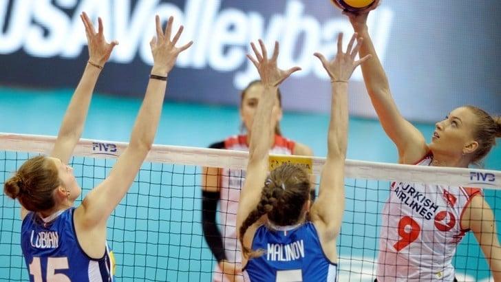 Volley: l'Italia Femminile torna al successo contro la Turchia