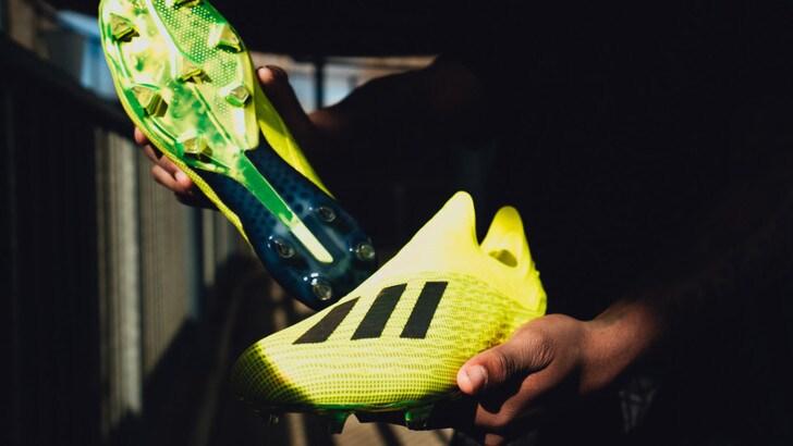 adidas Football presenta lanuova X18+ versione Team Mode