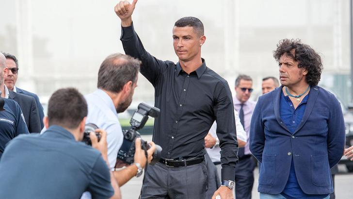 Fisco Spagna restituisce 2 mln a Ronaldo