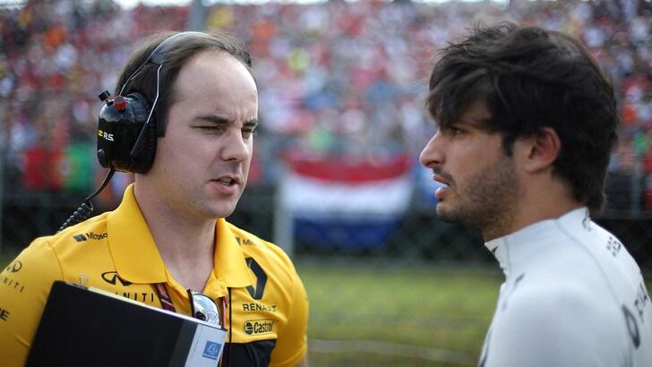 F1, Sainz: «Hulkenberg sulla Mercedes? Stupirebbe»