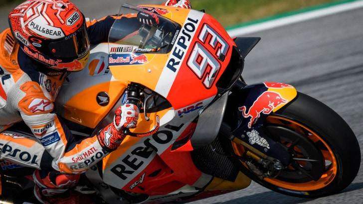 MotoGp Austria, Marquez: «La Ducati va ma sono fiducioso»