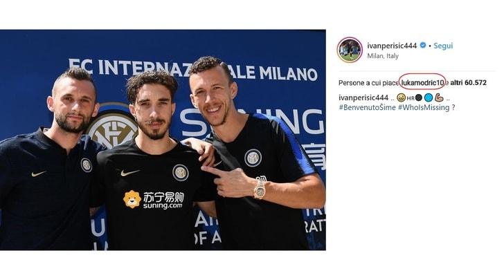 Perisic, Brozovic e Vrsaljko chiamano Modric all'Inter:«Chi manca?»