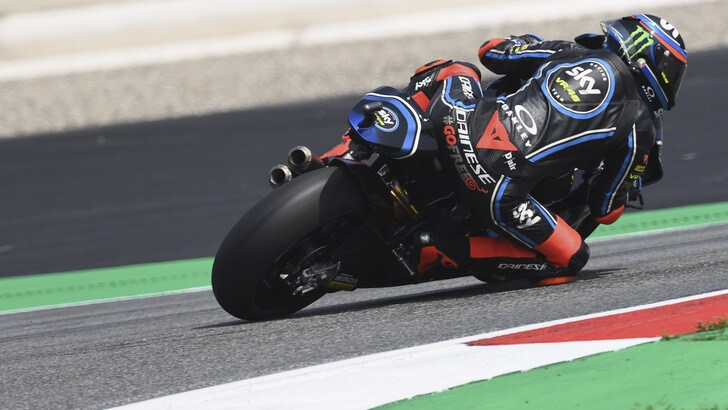 Moto2 Austria, Bagnaia partirà in pole position