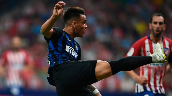Inter, che gol di Lautaro! Atletico Madrid ko