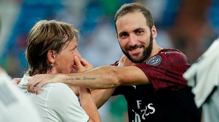 Real Madrid-Milan, trionfo di ascolti in tv