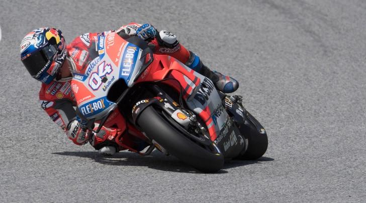 MotoGP Misano, Libere 1: Dovizioso guida il gruppo, 15° Rossi