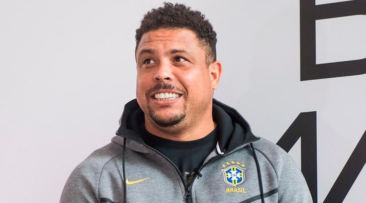 Il brasiliano Ronaldo ricoverato a Ibiza per una polmonite